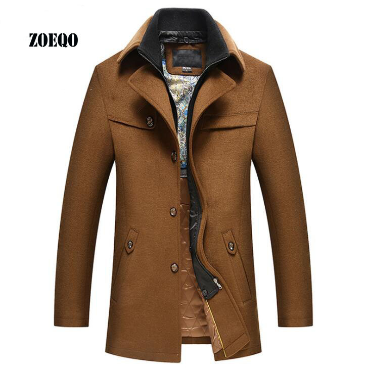 Men Winter Thicken Warm Loose Casual Cotton Padded Coat Male Fashion Hip Hop Streetwear Hooded Parkas