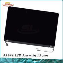 "Original New A1398 LCD Assembly for MacBook Pro Retina 15"" full LCD Panel 2013-2014 year 12pins LCD Assembly"