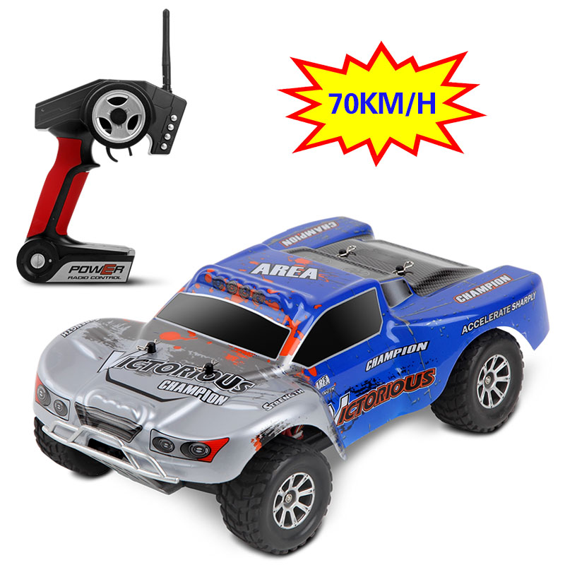 Newest 1:18 RC Car 4WD 4CH High Speed Rock Rover Toys Remote Control SUV 70KM/h Off Road Racing Car 2.4GHz Buggy for Boys 2017 new arrival a333 1 12 2wd 35km h high speed off road rc car with 390 brushed motor dirt bike toys 10 mins play time