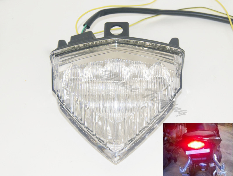 Rear Taillight Tail Brake Turn Signals Integrated Led Light Clear For 2011 2012 2013 2014 HONDA CB600F CB 600 F 600F Hornet PC41 aftermarket free shipping motorcycle parts led tail brake light turn signals for 2008 2012 suzuki hayabusa gsx1300r clear