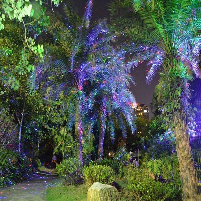 array outdoor waterproof led laser star light projector showers christmas garden landscape lighting red green mix - Led Laser Christmas Lights