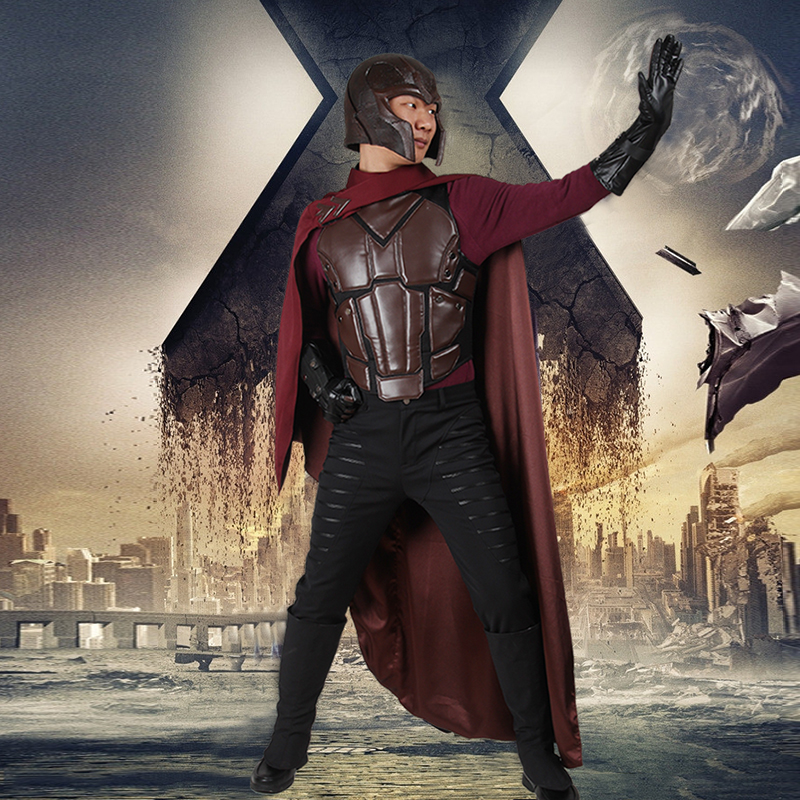 Aliexpress.com : Buy X Men Magneto Cosplay Costume Days of ...