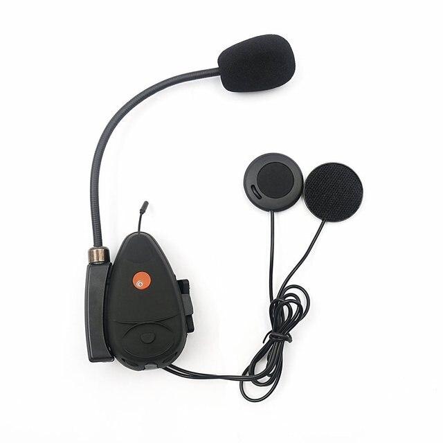 Intercomunicador Do Bluetooth Motocicleta Motor Bicicleta Caminhadas Capacete Headset Interfone V2 100 M FM