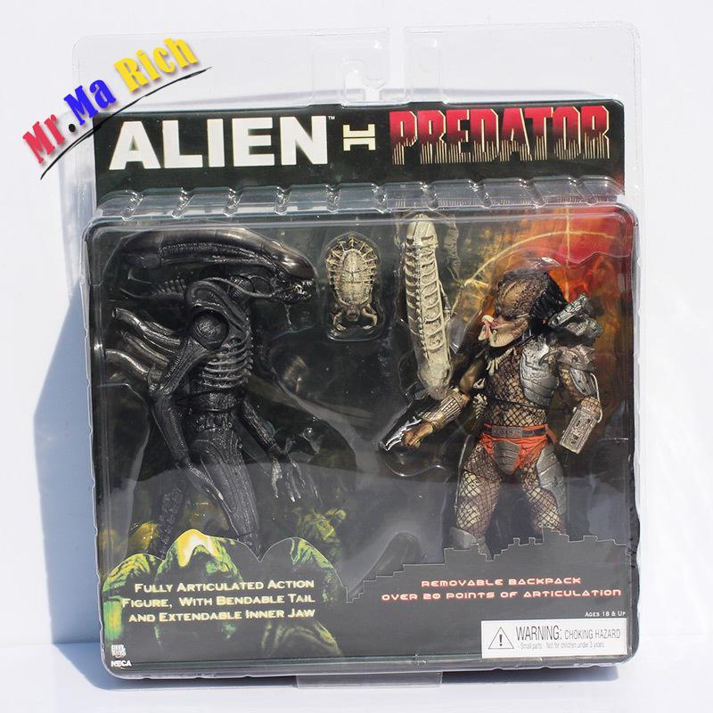 Neca Alien Vs prédateur jouets Alien Figure prédateur Pvc figurine jouet