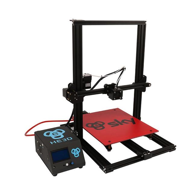 2019 newest HE3D SKY preassembled 3D Printer Impresora 3D Full Aluminium Frame with Titan Extruder Large Printing Area