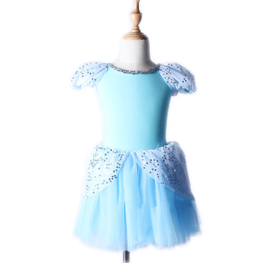 Color Grid Kid Girls Short Sleeve Leotard Gymnastics Ballet Tutu Dance Dress for Girls Wear New Adult Professional Dance Skirt