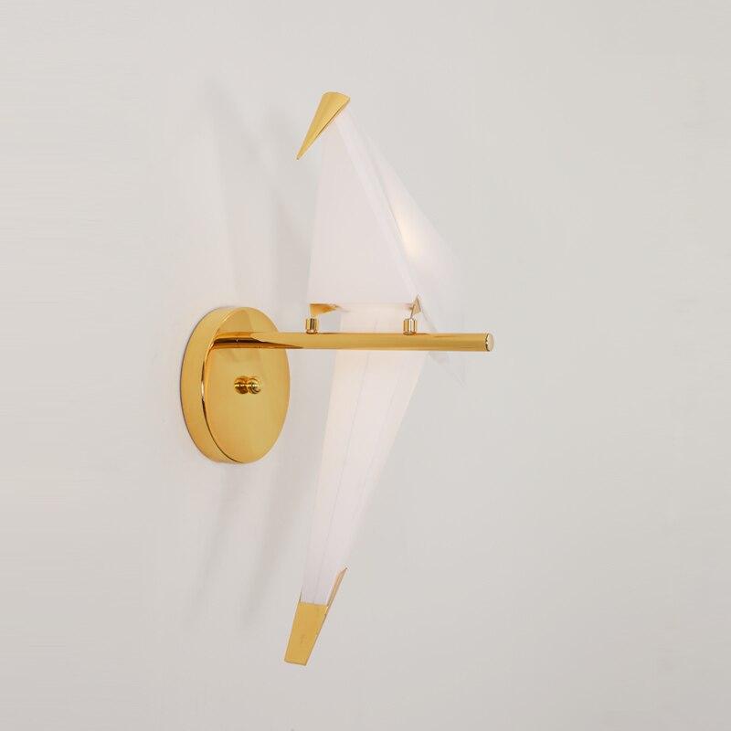 TRAZOS Moderna Lampade Da Parete Uccello Nordic creativo per soggiorno camera da letto comodino staffa di illuminazione Ad alta potenza led lustre Casa dero