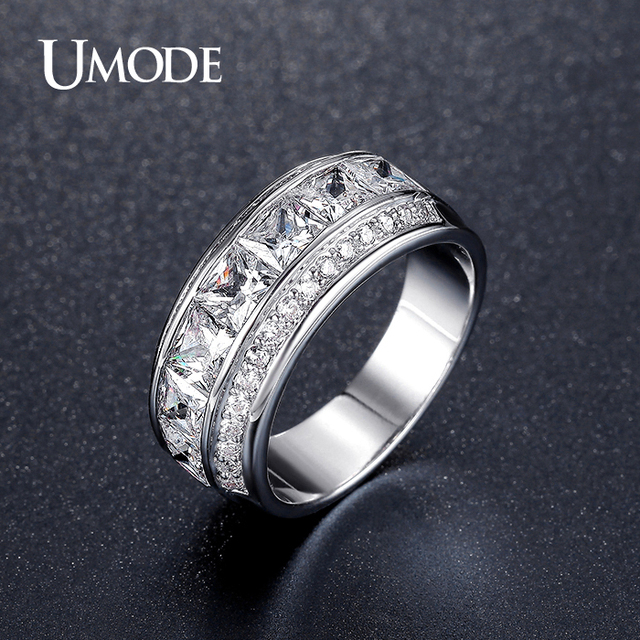 for silver elegant crystal plated rings product zircon ring gold finger women leaf lady