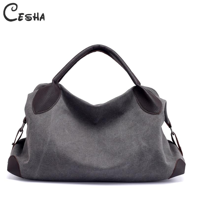 c2da79fad71e Női nagy kapacitású vászon táska táska Hobo táska Nő tartós minden ...