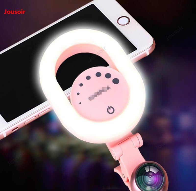 Los colores cálidos y fríos de la lente gran angular del suplemento de la luz de transmisión directa del teléfono móvil lámpara CD50 T07