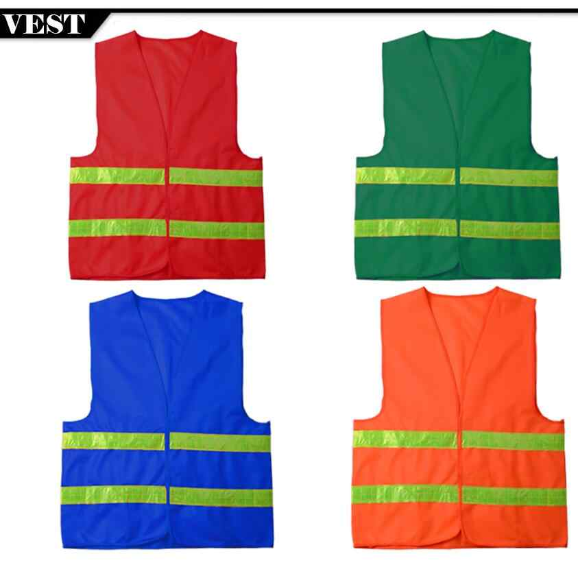 Spardwear High Quality Low Price Cheap Reflective Safety Vest Construction Traffic Work Security Waistcoat mens Free shipping