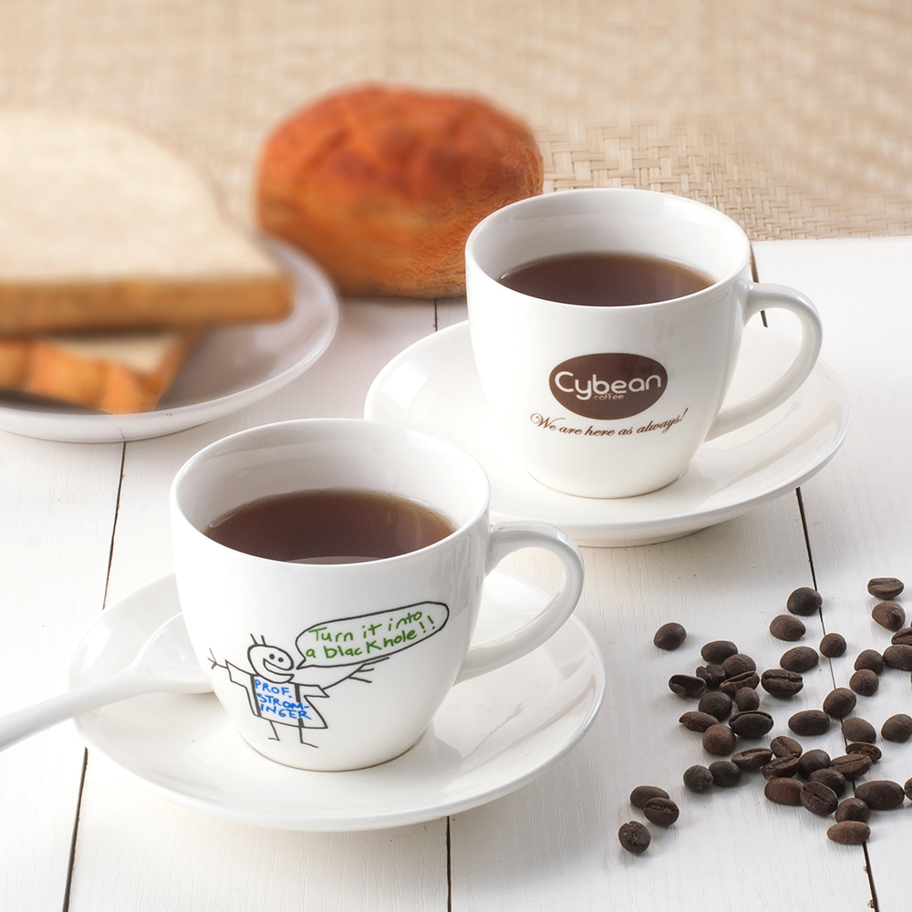 Small Coffee Cups And Saucers Us 142 5 5 Off Spsco Design Your Own Custom Logo Small Order Quantity Coffee Cup Tea Cup And Saucer Ceramic Cup In Coffee Cup Saucer Sets From