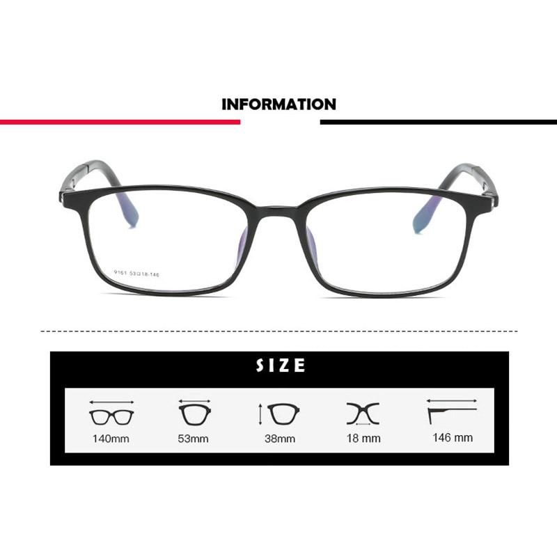 Handoer 9161 Optical Glasses Frame for Men and Women Acetate Eyewear Full Rim Spectacles Glasses Optical Prescription Frame in Men 39 s Eyewear Frames from Apparel Accessories
