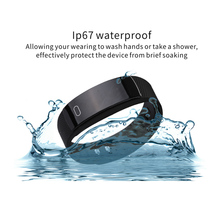 "QS80 Smart Wristband 0.42"" OLED Heart Rate Monitor Alarm Clock Watches Blood Pressure Pedometer Fitness Tracker for Android ios"