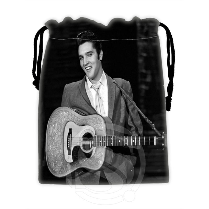 H-P720 Custom Elvis#8 Drawstring Bags For Mobile Phone Tablet PC Packaging Gift Bags18X22cm SQ00806#H0720