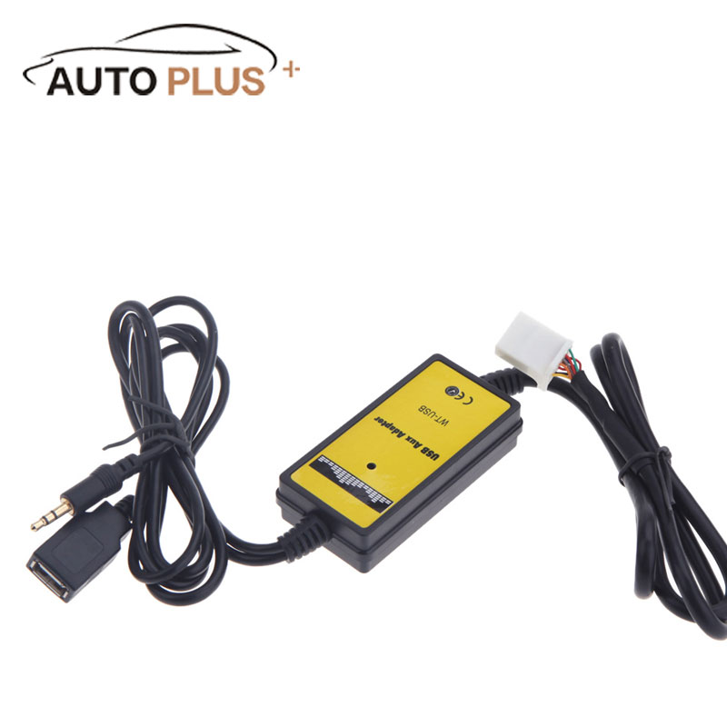 Auto Car Usb Aux In Adapter Mp3 Player Radio Interface For Rhaliexpress: Radio Adapter For 1998 Toyota Camry At Gmaili.net