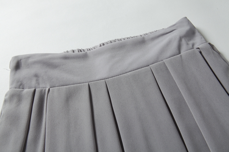 Gray Chiffon Maxi Skirt | Jill Dress