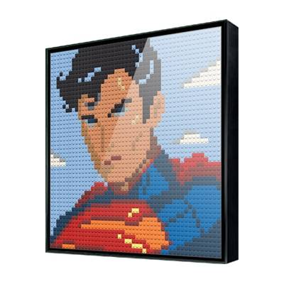 Us 420 30 Off50x50 Dots Isometric Pixel Art Bricks 1x1 Mini Building Blocks Portraits Diy Home Decoration Compatible With Legoes Cartoon In