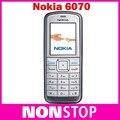 Hot ! Original Nokia 6070 Unlocked Refurbished Mobile Phone 2G GSM Cheap Nokia Cellphone Free shipping