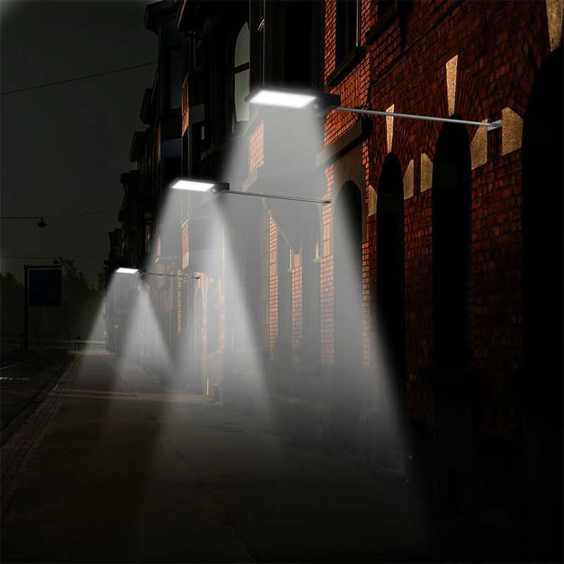 Solar Motion Sensor Street Lights Outdoor