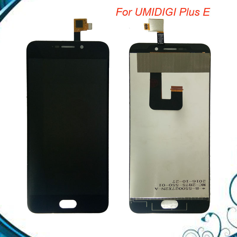 Black For Umi Plus E LCD Display and Touch Screen Assembly Repair Parts 5.5 Inch For Umi Plus Phone