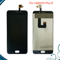 Black For Umi Plus E LCD Display And Touch Screen Assembly Repair Parts 5 5 Inch