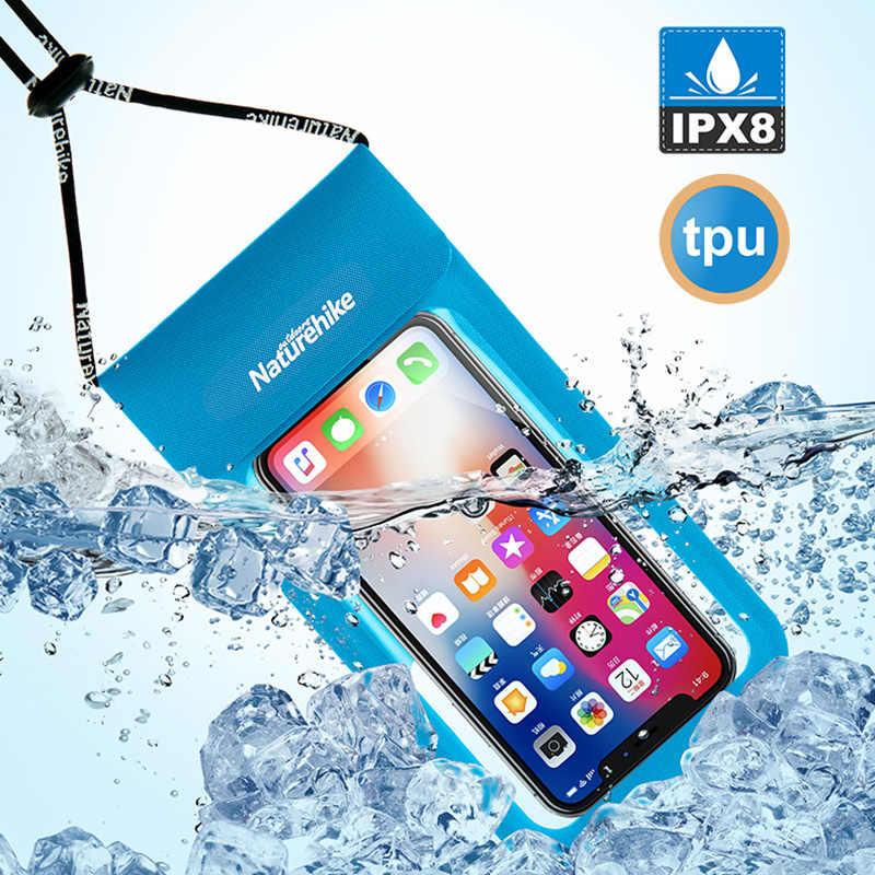 IPX8 防水電話ケースポーチ最適ボートカヤックラフティング水泳ドライバッグあなたの携帯電話や貴重品を保護