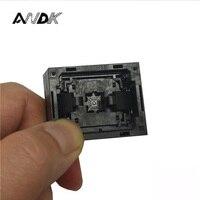 IC Socket Test Queime na Tomada de Soquete de Programação QFN32 MLF32 Opentop Tamanho do Chip 5*5 Pin Passo 0.4mm Conector de Flash