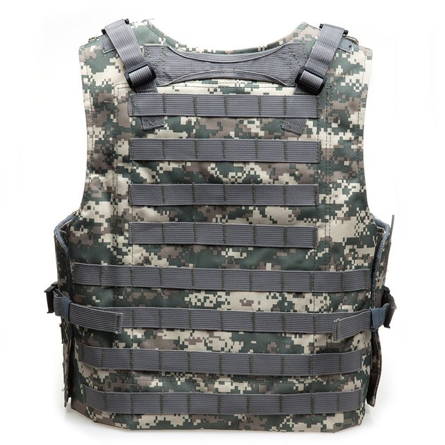 Amphibious Tactical Military Hunting Vest Combat Assault Protection Vest