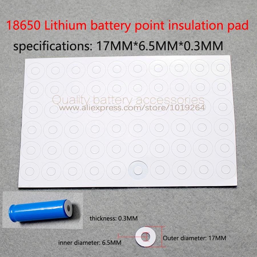 Купить с кэшбэком 100pcs/lot 18650 Li batteries can disassemble the battery 18650 spot pointed hat tip cap battery accessories