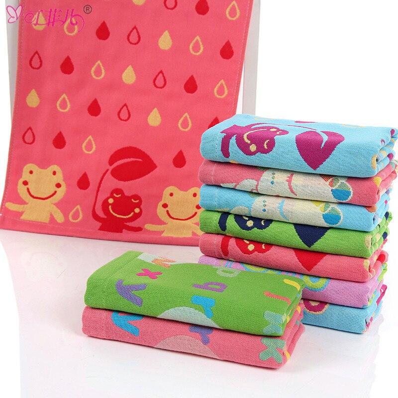 Soft 8Pcs Pack Baby Gesicht Hand Handtücher Baumwolle Wischen Wäsche Tuch.CN