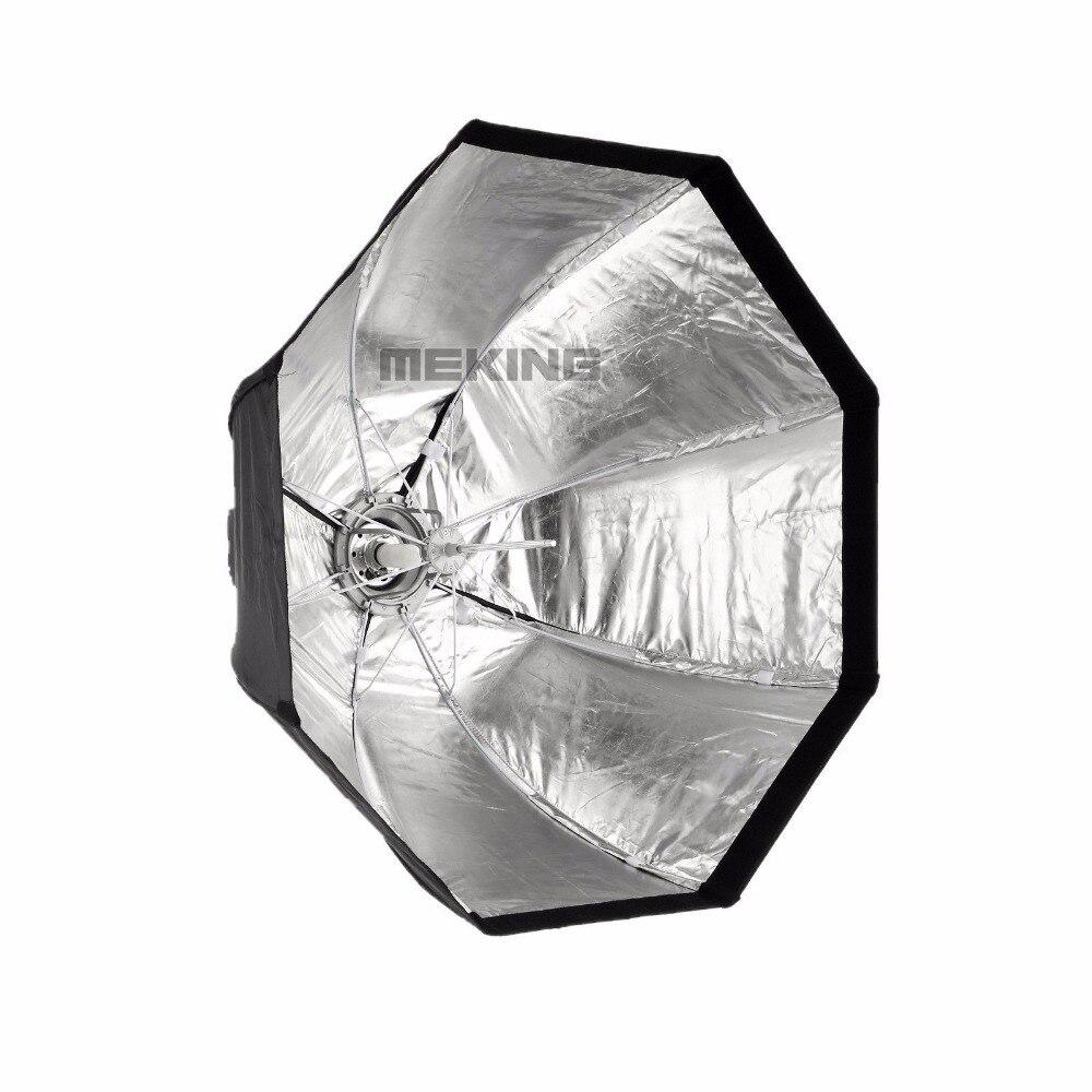 Meking 95 см 37,5 в Зонт софтбокс переносной восьмиугольный вспышка Speedlight SpeedliteSoft Box Brolly отражатель с сумкой Фотостудия