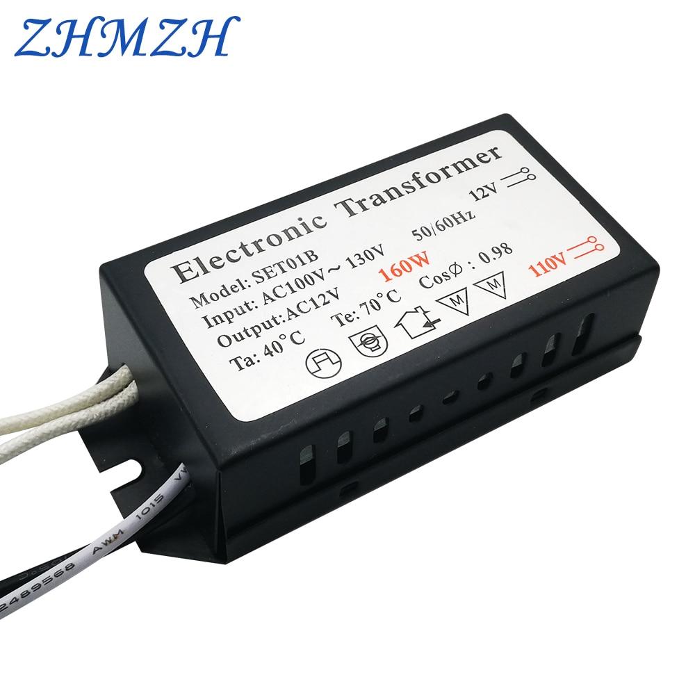 110 В электронды трансформатор 60W 120w 160W - Жарықтандыру керек-жарақтары - фото 3
