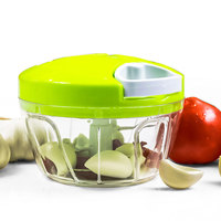 Baby Food Supplement Cooking Kitchen Multi Function Manual Mincer Vegetable Meat Grinder Chopper Tool Stainless Steel