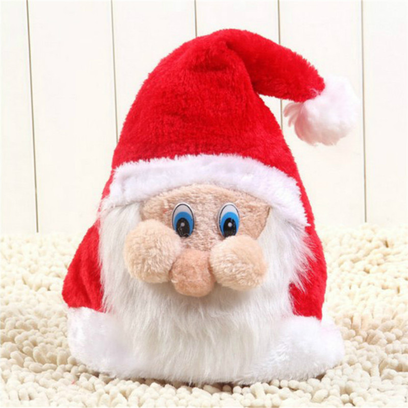 9a823aa0946b3 Creative New Years Christmas Hat Party Santa Claus Hat Christmas Gift for Children  Christmas Decoration Supplies 5ZHH145
