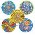 Magnetic Wand Wiggles and Worms Marbles Labyrinth Wooden Animal Maze Educational Kids Parenting Family Game