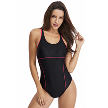 2019 Sport One Piece Swimsuit Racing Competitive Fashion Slim High Quality Swimming Suits for Women