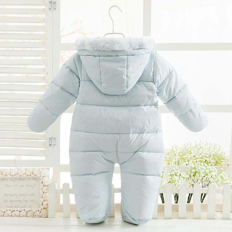 7c2b582239 Baby mädchen overalls russland winter baby clothing & schnee tragen ente  Daunenjacke & Schneeanzüge für Kinder Jungen Mädchen Kleidung Daunenmantel  in Baby ...