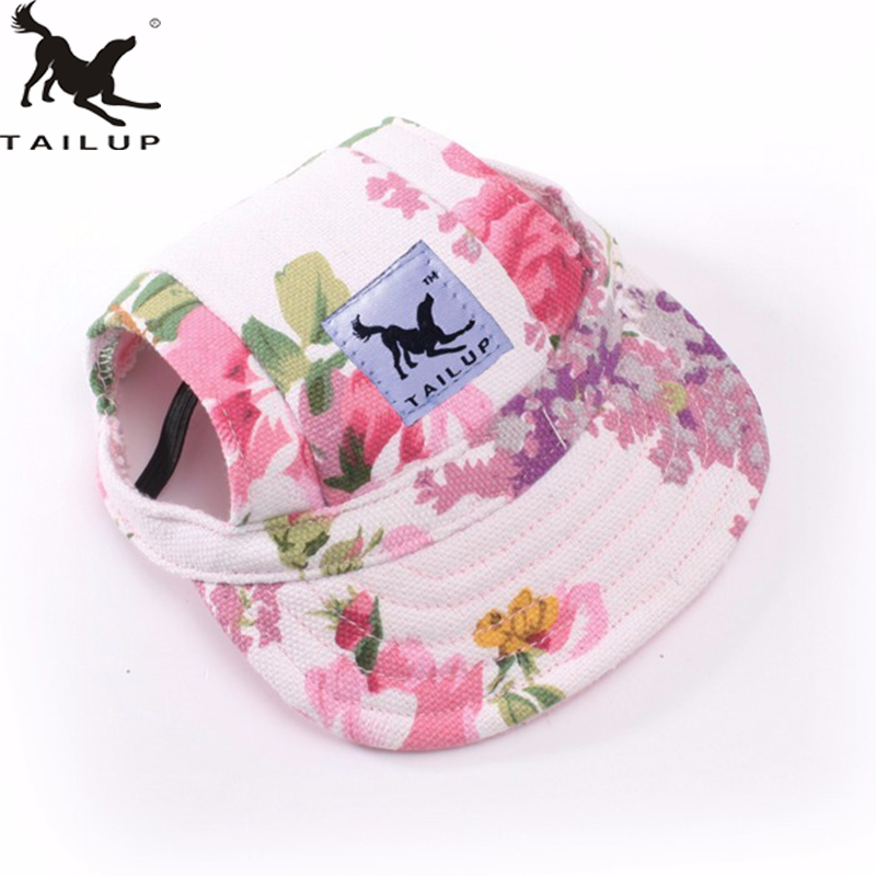 TAILUP Hot Sale Sun Hat For Dogs Cute Pet Casual Cotton Baseball Cap Chihuahua Yorkshire Pet Products 11Colors