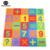 16 Peças Número Puzzle Mat Rastejando Esteiras de Espuma EVA Macio Para Crianças Desporto Escolar Ginásio Educacional Do Bebê Tapete Tapetes de Jogo