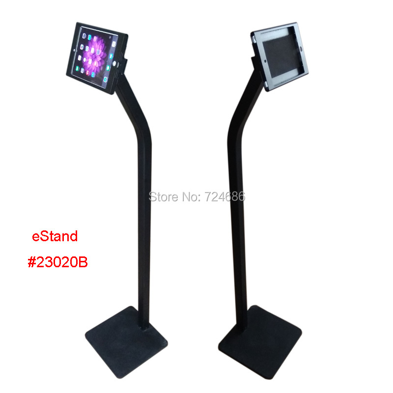 for mini ipad floor stand display lock kisok rack on retail store or shop - Ipad Floor Stand