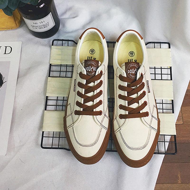 2018 Fashion Casual Shoes meestele Tennis Cavas kingad Flat - Meeste jalatsid - Foto 4