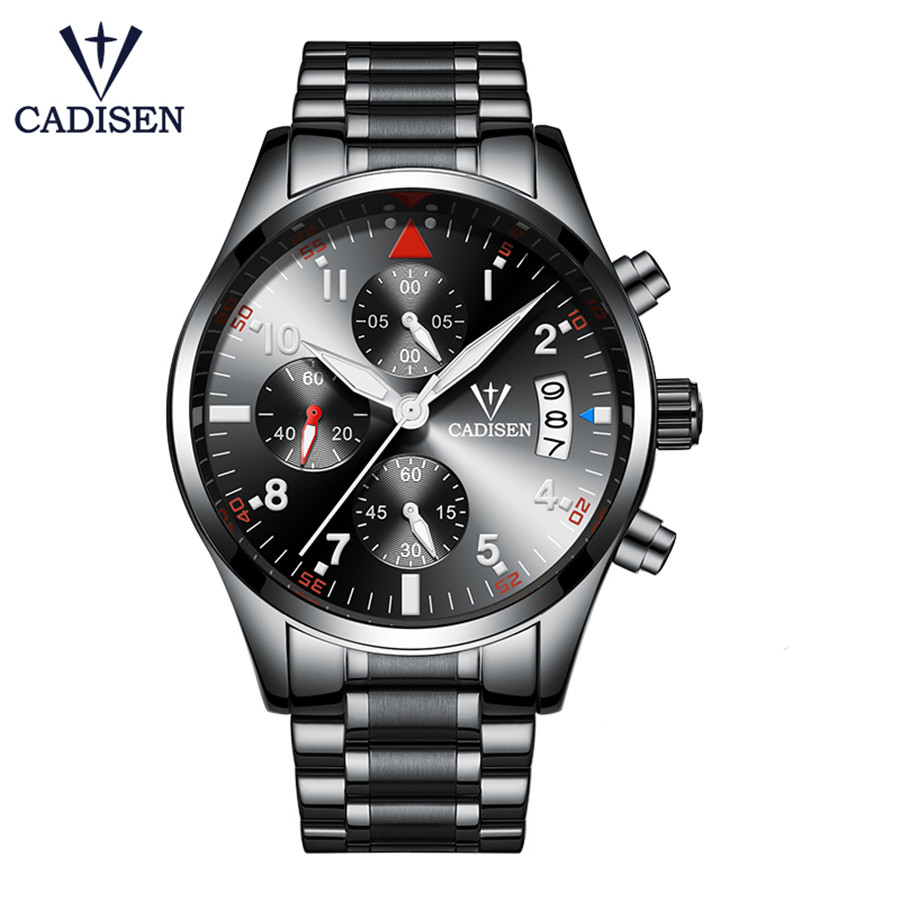 Watch Men Business Waterproof Clock Mens Watches Top Brand Luxury Fashion Casual Sport Quartz Wristwatch Relogio Masculino NEW vinoce top luxury brand men military sport watches men s quartz clock male leather waterproof casual business wristwatch relogio