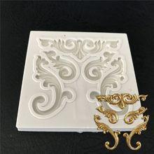 Европейская рельефная форма 3D ремесло рельефная силиконовая форма для шоколадных кондитерских изделий помадка торт Кухня украшения DIY Инструменты
