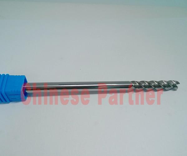 1pcs 12mm hrc50 D12*45*D12*100 3 Flutes end mill for Aluminum lengthen Milling Tools Carbide CNC Endmill Router bits 1pcstungsten aluminium end mill cutter 16mm 3 flutes cnc endmill router bits carbide milling tools d16 100 3t