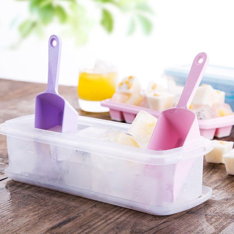 Холодильник Ice Box Творческий Замороженные Ice Box самодельные лед решетки поле плесень