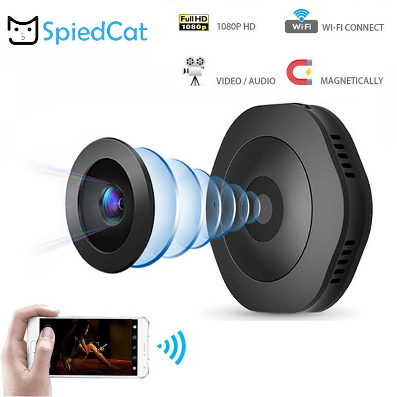 Wifi Mini Camera Home Security IR Night Vision Wireless Cam HD Motion Detection Portable Magnetic Handheld Smart Camera