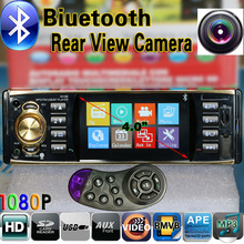 12 V Car Radio Reproductor MP5 4.0 HD/Cámara de Visión Trasera/Bluetooth Estéreo/FM/MP3/MP4/Audio/Video/USB/TF/AUX/Auto Electrónica Automotriz