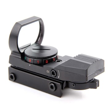 1x33 Taktik Savaş holografik 4 Reticle Kırmızı/Yeşil Nokta yansımalı nişangah kapsam Yeşil 20mm/11mm HD101 Ücretsiz Kargo