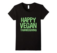 Happy Vegan Thanksgiving women's t-shirt / 2 Colors